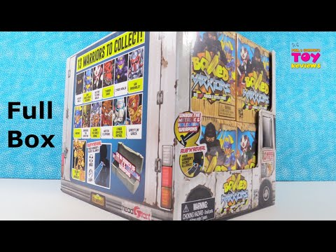 Boxed Warriors Blind Bag Figure Unboxing Toy Review | PSToyReviews