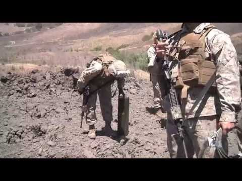 EXPLOSIVE DEMOLTION!  U.S. Marines Conduct Shaped Charge Demolition Training!