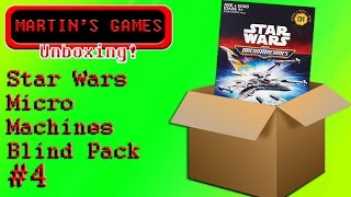 Star Wars Micro Machines blind pack (blister pack) unboxing #4