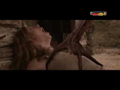 A New Hollywood Horror movie scene - Monster thriller like dinosaur