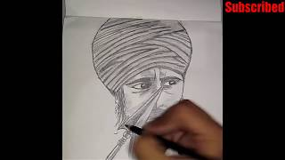 Sant baba jarnail Singh ji khalsa bhindranwale sketch ||art & photography||