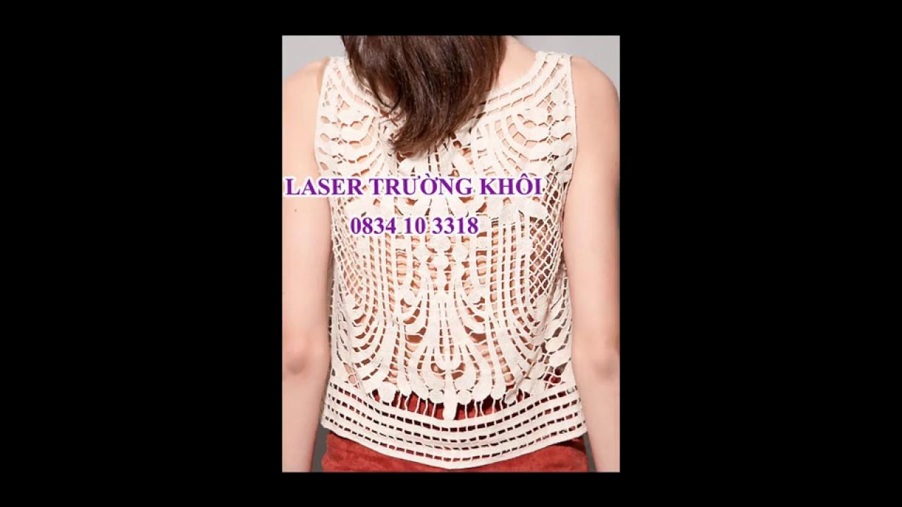 Cắt laser Vải thời trang giá rẻ LH: 0834103318