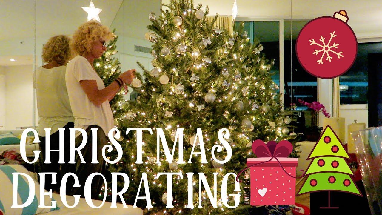 studio recording christmas decorating in miami lol 28