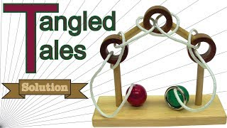 Solution for Tangled Tales from Puzzle Master Wood Puzzles