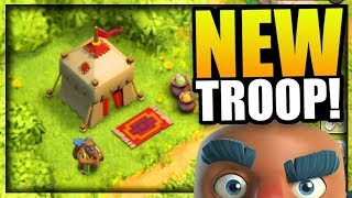NEW HUGE UPDATE - THE TRADER IS HERE!! | New Troop in Clash of Clans - CoC Trader (New Character)