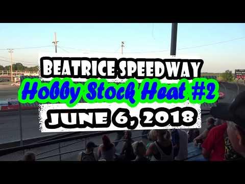06/08/2018 Beatrice Speedway Hobby Stock Heat #2