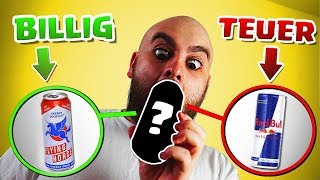 BILLIG vs TEUER - ENERGY DRINK SPECIAL! Experiment