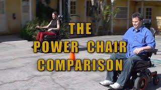 The Power Wheelchair Comparison   Permobil -  F3