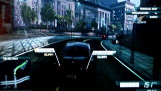 Need For Speed Most Wanted Nissan GTR - Downgraded Race ( Hard )