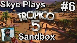 Tropico 5: Gameplay Sandbox #6 ►Maximizing Profitability - World War Era◀ Tutorial/Tips Tropico 5.