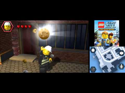 LEGO City Undercover (3DS): The Chase Begins 100% Guide - Downtown - All Collectibles
