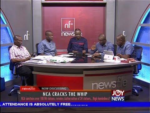 NCA Cracks the Whip - Newsfile on JoyNews (7-10-17)