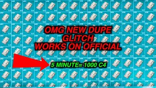 This new GLITCH allows you to dupe everything! (Ark official servers)(full explanation)!