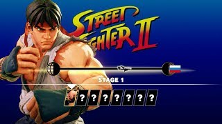 SFV AE - Ryu Arcade Mode (Full) [Street Fighter 2 Path]