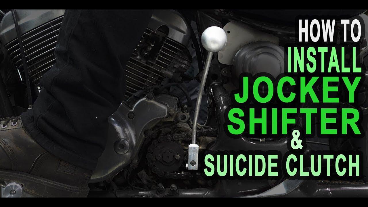 How To Install Jockey Shifter Suicide Clutch Tj Brutal Customs 5150 Kikker Bobber Wiring Diagram