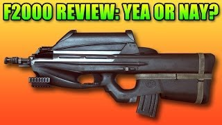 Battlefield 4 - F2000 Review: New Super Power or Under Powered?