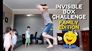 Invisible Box Challenge - Family Edition **FUNNY FAILS**