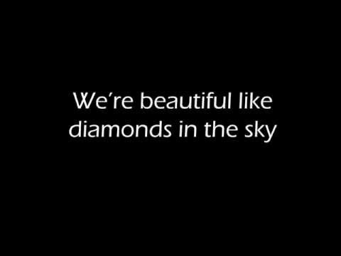 Diamonds - Rihanna [FREE MP3 DOWNLOAD][HQ Full Studio][LYRICS VIDEO]