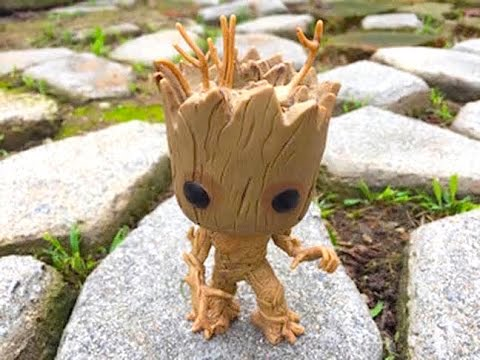 Funko Pop Vinyl Bobblehead Marvels Guardians Of The Galaxy Dancing Groot