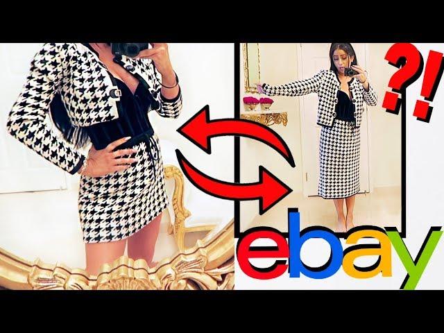 EBAY CLOTHING TRANSFORMATIONS!