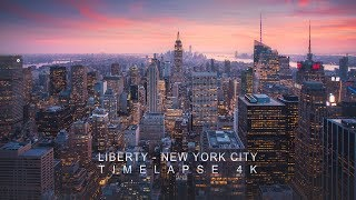 Liberty - New York City Timelapse 4K Video