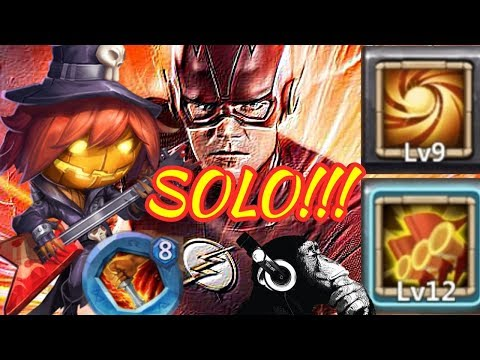 Pumpkin Duke | Sacred Light | Solo | Including 5-10 | Castle Clash