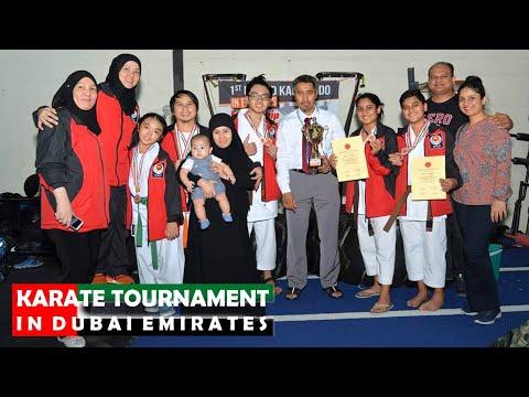 1ST UNITED KARATE-DO IN EMIRATES (Friendship Tournament Dubai 2019)