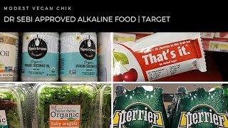 Dr Sebi Approved Alkaline Foods at TARGET |  Alkaline Vegan Grocery Shopping Video