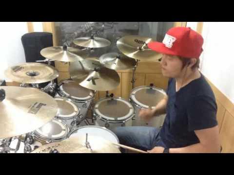 tinggi namamu dipuji drum cover(drummer lee ho jae)