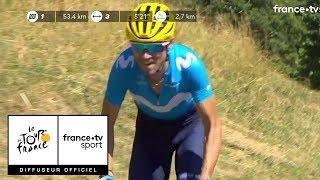 Tour de France 2018 : Valverde place la première banderille !