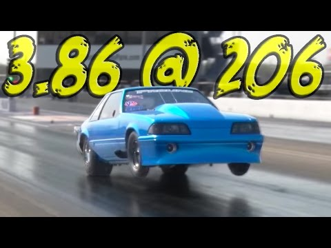 TWIN 102MM TURBO Mustang - Fletcher Cox's RACE CAR!