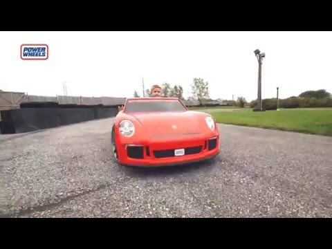 Fisher-Price Power Wheels - Porsche 911 GT3 English | Toys R Us Canada