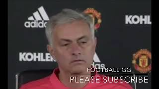 Jose Mourinho Pre Match Press conference. Manchester United Vs Watford