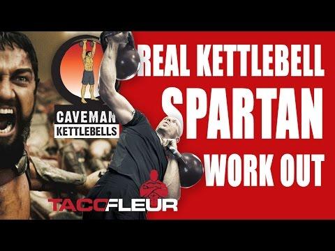 Real Kettlebell Spartan Workout ✔