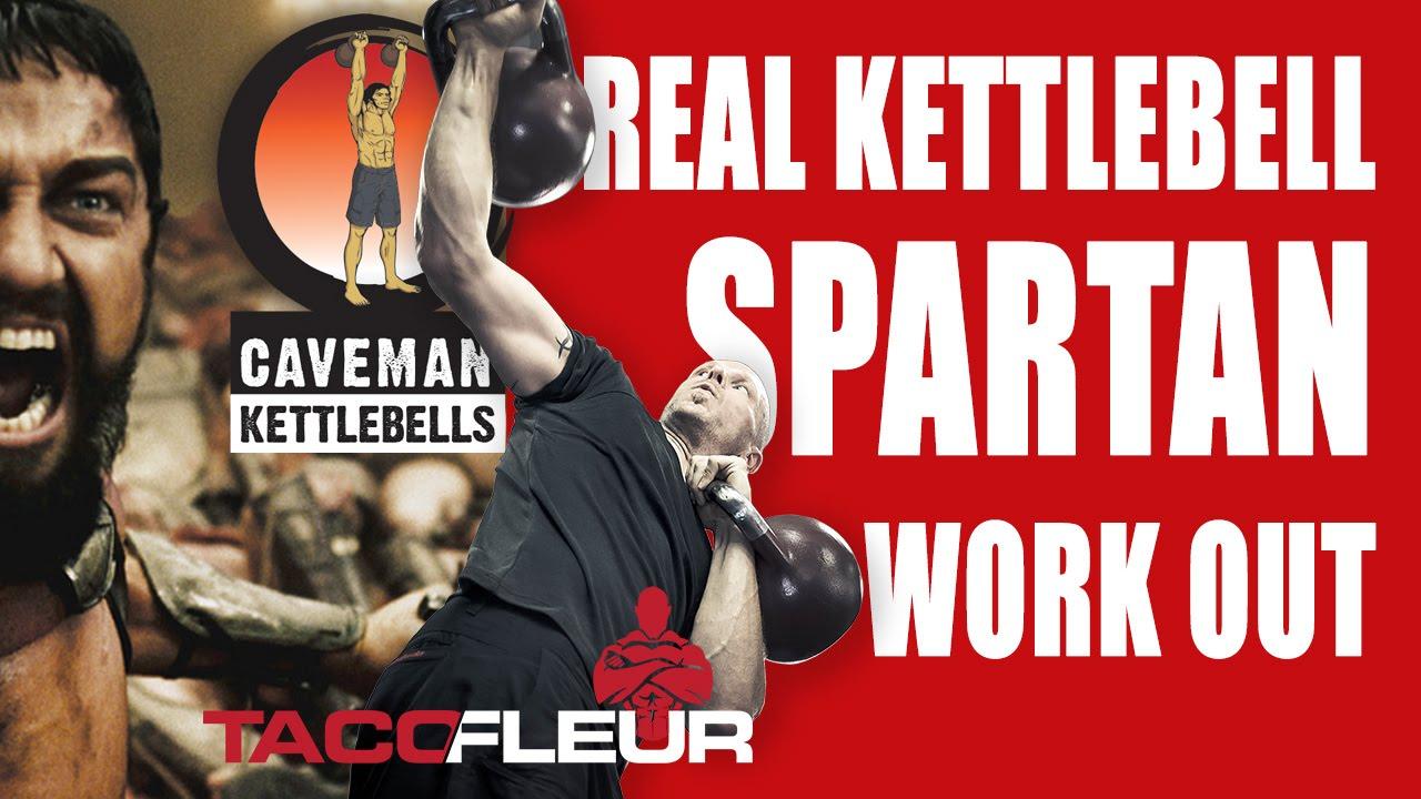 Real Kettlebell Spartan Workout