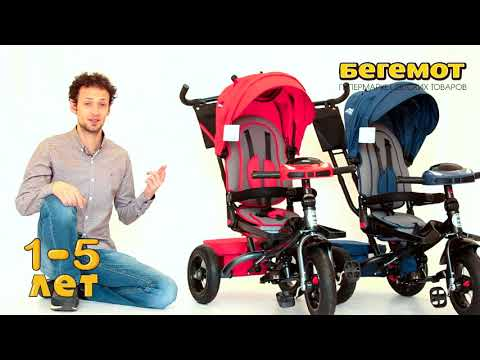 Обзор трёхколесного велосипеда с родительской ручкой Safari Trike 360