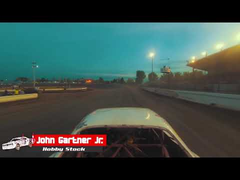 Jamestown Speedway Stockcar Stampede - Hobby Stock Feature - John Gartner Jr.