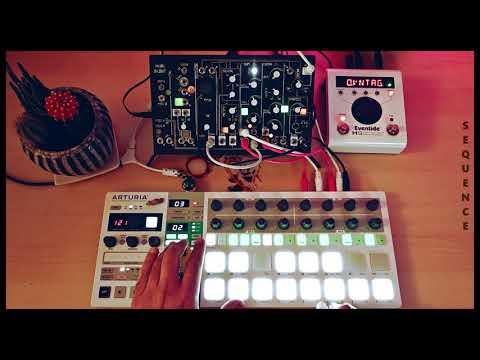 028▶️ Coast To Coast (Make Noise 0-Coast, Eventide H9 Max, Arturia Beatstep Pro)   One Synth Only