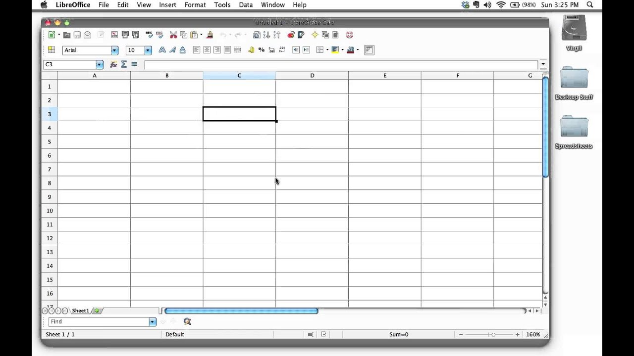 Understanding Spreadsheet Rows Columns Cells Workbooks And Sheets