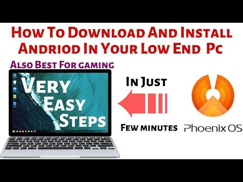 how-to-download-and-install-phoenix-os-in-low-end-pc,best-for-gaming,full-tutorial,arultech4you