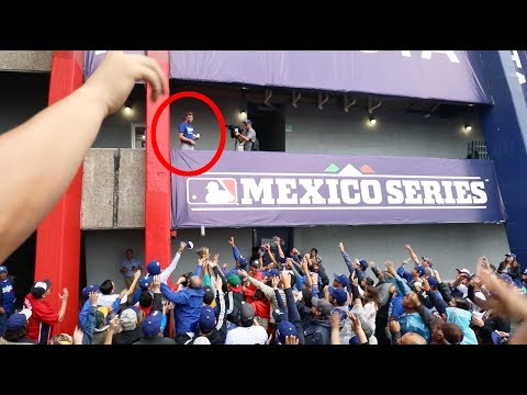 Mayhem in Mexico! Behind the scenes at MLB's series at the Monterrey Baseball Stadium