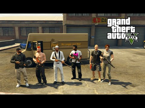 GTA 5 Online PC | Robbery Roundup | #7 WORST BEST GETAWAY EVER