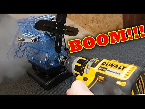BOOM!!! 95,000rpm VS Haynes Build your own ENGINE Rod exits BLOCK!!!