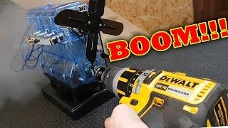 BOOM!!! 95,000rpm VS Haynes Build your own ENGINE Rod exits BLOCK!!!