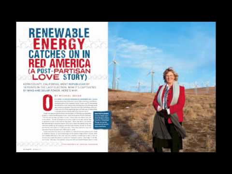Renewable Energy Catchs On in Red America - Green is Good