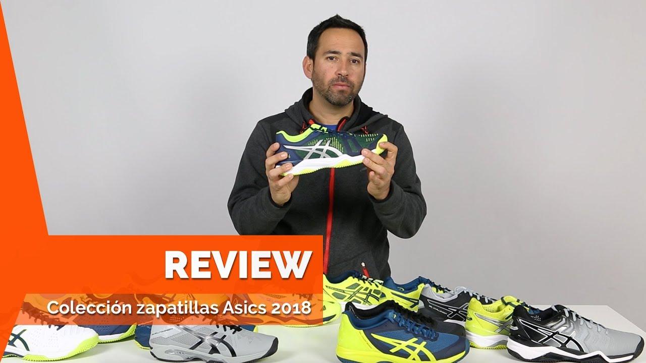 dd624c548 Nueva colección zapatillas de pádel Asics 2018 - YouTube