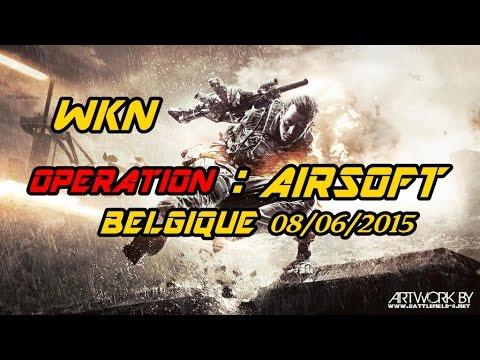 Airsoft : belgique partie du 08/06/2015 [FR]