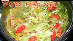 Resep TUMIS LABU Siam warna tetap fresh