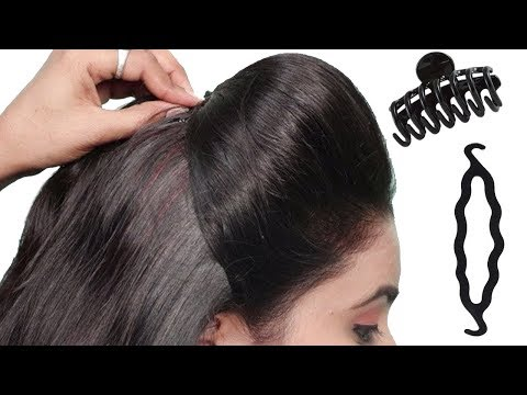 4 Easy Puff Hairstyles | How to Make Perfect Puff Hairstyle | Quick Hairstyles for Medium Hair thumbnail