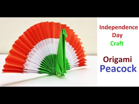 Origami Peacock | DIY Paper Peacock | DIY Independence Day Craft | DIY Republic Day Decor | Tutorial